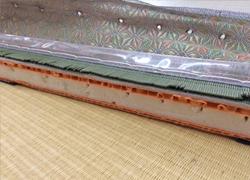 洗える畳の施工例